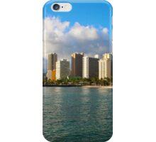 Waikiki Beach, Honolulu OAHU iPhone Case/Skin