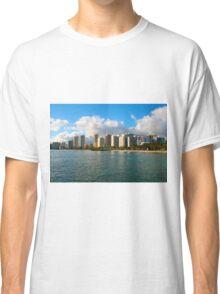 Waikiki Beach, Honolulu OAHU Classic T-Shirt