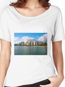 Waikiki Beach, Honolulu OAHU Women's Relaxed Fit T-Shirt
