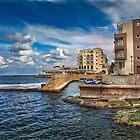 Il-Menqa, St Paul's Bay Malta by Edwin  Catania