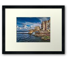 Il-Menqa, St Paul's Bay Malta Framed Print