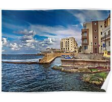 Il-Menqa, St Paul's Bay Malta Poster