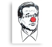 Goodell Clown Metal Print