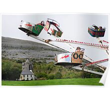 Ballyvaughan Races 2010 - Carrousel Poster