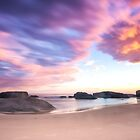 Pink Cloud Sunrise by BronwynBell