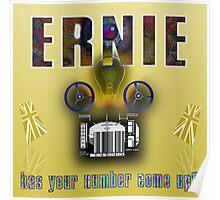 Ernie and the Premium Bonds Poster