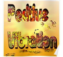 Positive Vibration logo 1 Poster