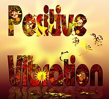 Positive Vibration logo 2 by Grant Wilson