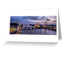 London view Greeting Card