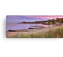 Abersoch, Macroes beach sunset Canvas Print