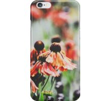 Flowers and Art  iPhone Case/Skin