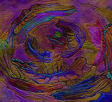 Natural Beauty- Abstract purple nature by kreativekate