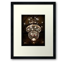 The Lamp from Planet Zed Framed Print