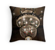 The Lamp from Planet Zed Throw Pillow