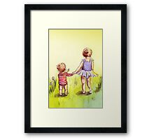 A Walk in the Sun Framed Print
