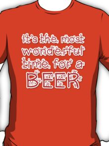 It's the most wonderful time.. for a beer T-Shirt