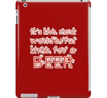 It's the most wonderful time.. for a beer iPad Case/Skin