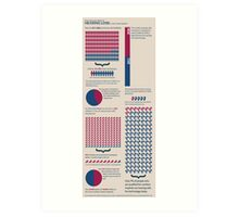 Hearing Loss Infographic Art Print
