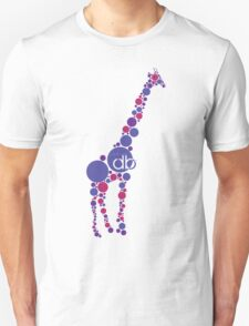 Branded Violet Bubble Giraffe Unisex T-Shirt
