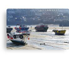St Ives Harbour Canvas Print