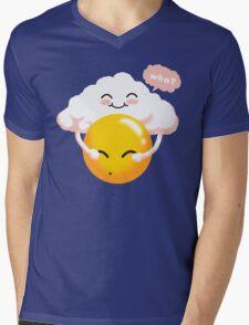 Sunny Weather Mens V-Neck T-Shirt