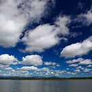 Blue Cloudy Sky by 104paul