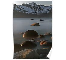 Rocks in the arctic Poster