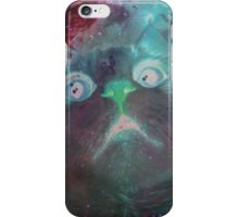 Space Galaxy Ghost Cat Thing iPhone Case/Skin
