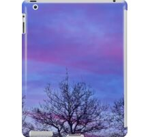 Tree Tops In The Sunset iPad Case/Skin