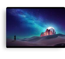 Desert Nebula Canvas Print