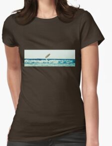 flying board Womens Fitted T-Shirt