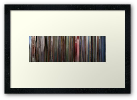 Moviebarcode: The Shining (1980) by moviebarcode