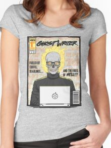 Ghost Writer Issue #1 Women's Fitted Scoop T-Shirt