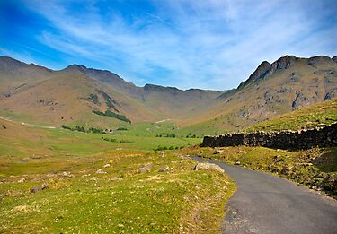 Mickleden Valley Road by Trevor Kersley