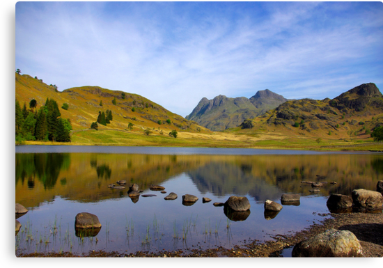 Peaceful Waters - Blea Tarn by Trevor Kersley