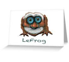 LeFrog 2011  Greeting Card