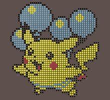 Pika Balloon - Pixel by Steve Lambert