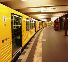 Berlin Metro by alokojha