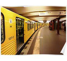 Berlin Metro Poster