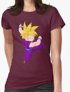 Teen Gohan Womens Fitted T-Shirt