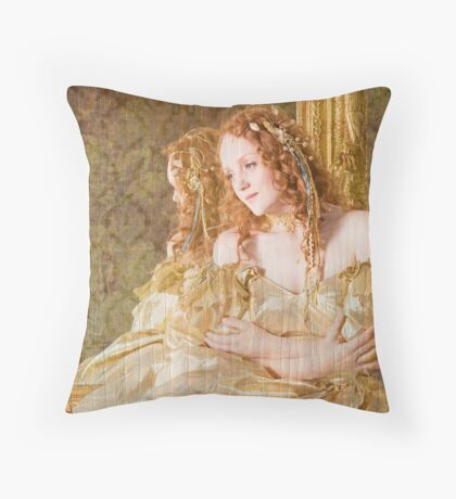 Forgotten Masterpiece Throw Pillow
