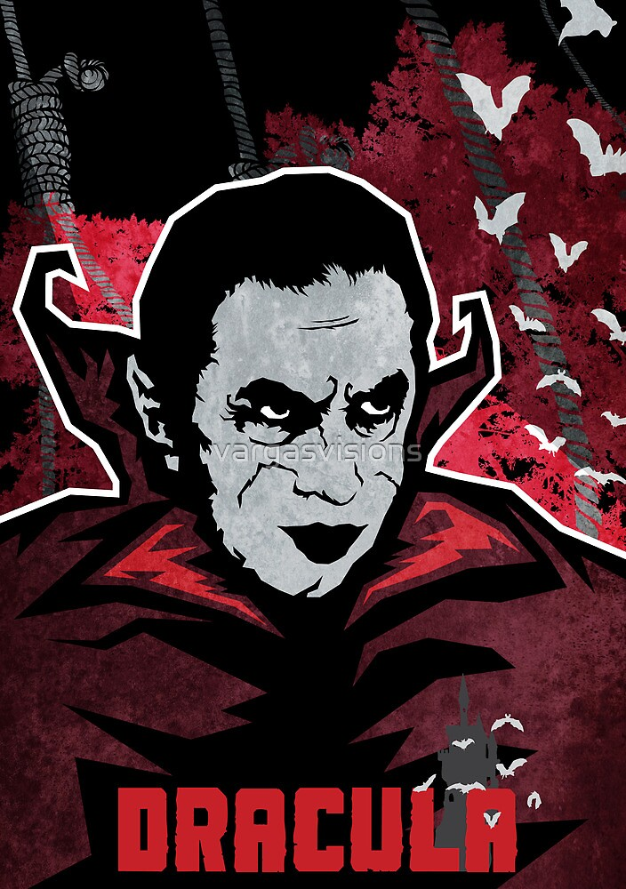 Dracula (Textured) by vargasvisions