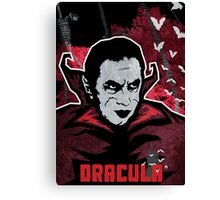 Dracula (Textured) Canvas Print
