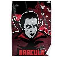 Dracula (Textured) Poster