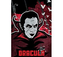 Dracula (Textured) Photographic Print
