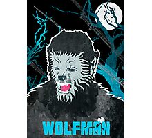 Wolfman (Textured) Photographic Print