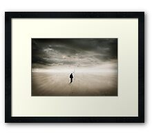 Fishing for Happiness Framed Print