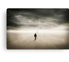 Fishing for Happiness Canvas Print