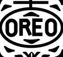 Oreo Logo Sticker