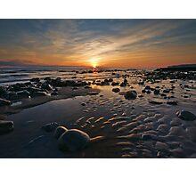 Llantwit Major Beach Photographic Print